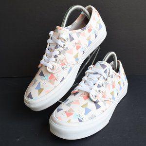 * New VANS Camden Stripe Triangle Print Skate Shoe